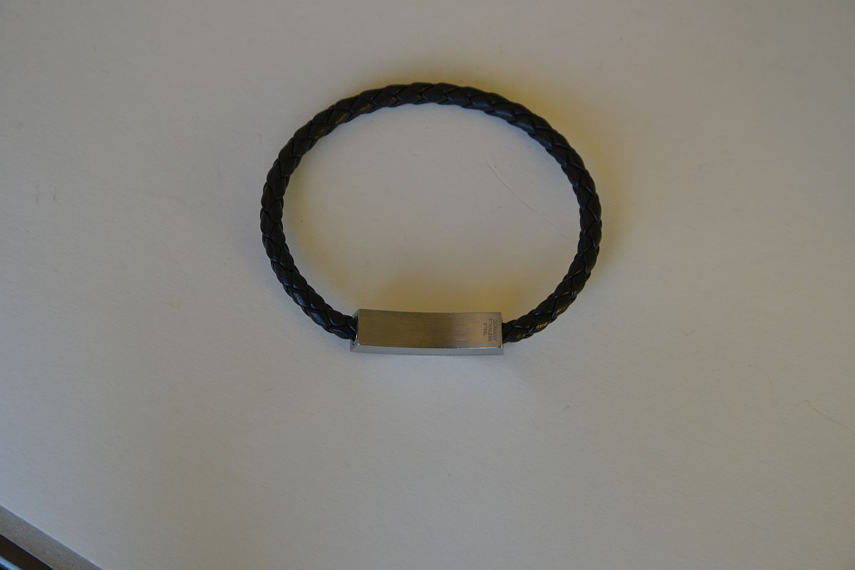 porsche design armband edelstahl leder bracelet leather. Black Bedroom Furniture Sets. Home Design Ideas